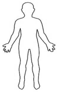 Outline Of The Human Parts by Clip Human Cliparts Co