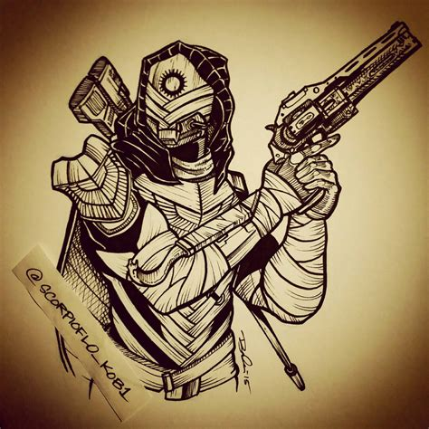 osiris hunter by koboneart on deviantart