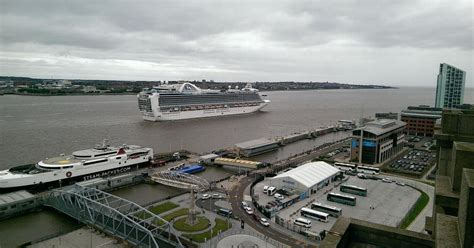 princess cruises from liverpool princess cruises megaliner ruby princess arrives in