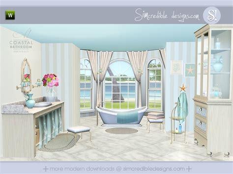 sims 3 bathroom ideas simcredible s coastal bathroom