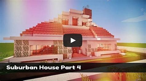 minecraft suburban house tutorial minecraft suburban house tutorial part 6 minecraft project