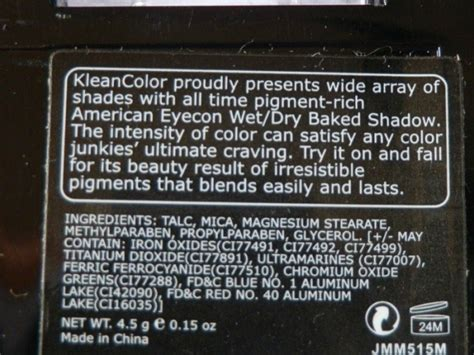 Kleancolor American Eyecon Or Baked Shadow kleancolor american eyecon baked eyeshadow matte