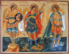 7 archangels 9 choirs of seven archangels