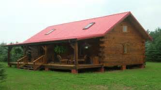 Small Home With Small Log Cabin Home House Plans Small Rustic Log Cabins
