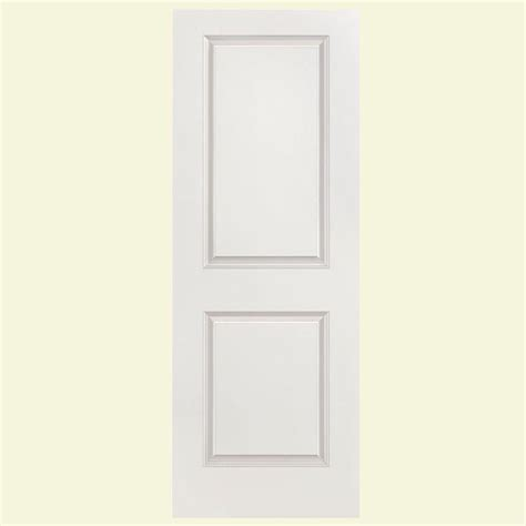 masonite solidoor smooth 2 panel square solid core primed masonite 32 in x 80 in saddlebrook smooth 1 panel plank