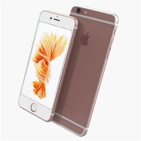 Chasing Iphone 6 Model Iphone 7 Gold 3d model iphone 6s gold