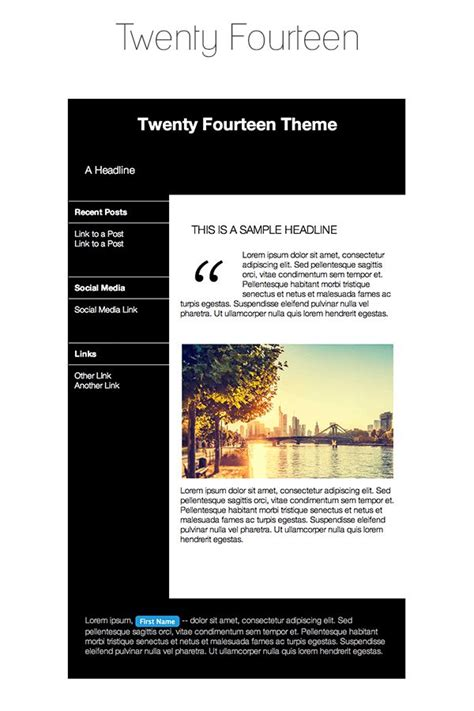 theme wordpress newsletter 38 best ideas about email newsletter templates on