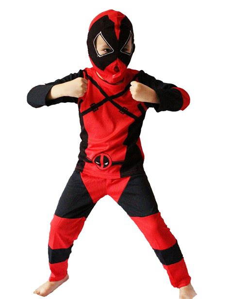 disfraces dead pool kids deadpool costume reviews online shopping kids