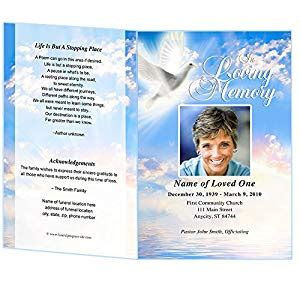 free memorial card templates for mac peace funeral program template microsoft word