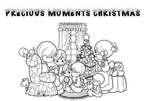 Print & Download   precious moments christmas coloring