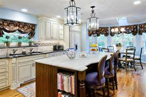 White Kitchen Wood Island White Kitchen Wood Island Flickr Photo