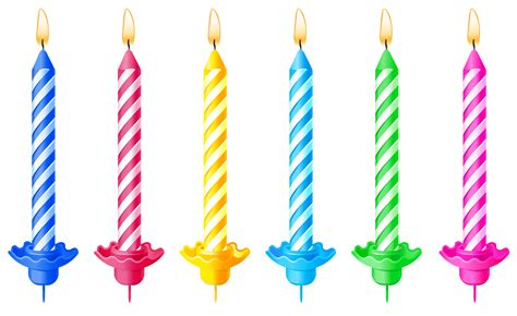 kerzenhalter kindergeburtstag birthday candles png clipart picture gallery