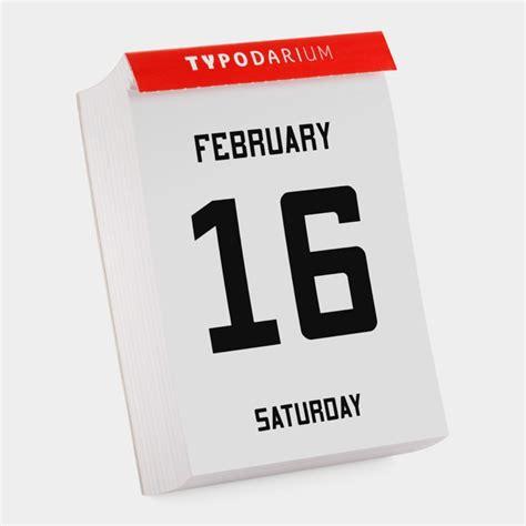 2013 365 Fonts Page a Day Calendar   HolyCool.net