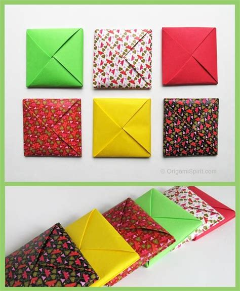 How To Make Origami Envelopes - how to make a traditional origami envelope http www