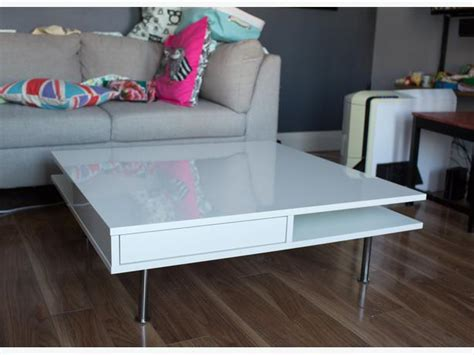 ikea tofteryd coffee table high gloss white east