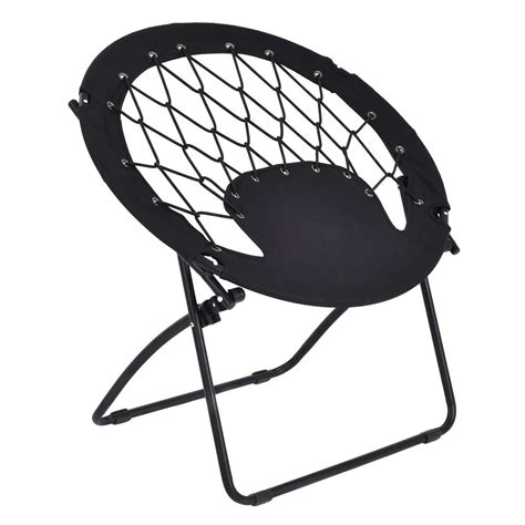 circle bungee chair outdoor folding bungee chair steel frame cing