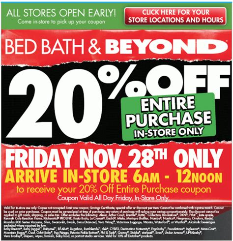 bed bath and beyond scannable coupon bed bath beyond black friday 2018 sale blacker friday