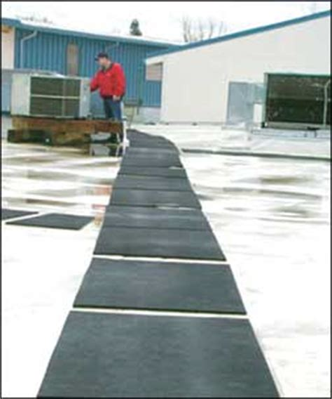 Roof Mats by Roof Walkway Safety Mats