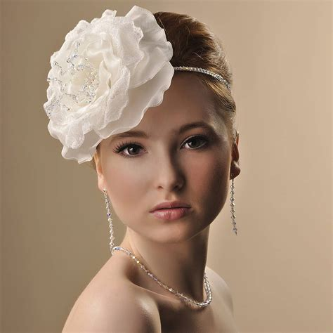 Handmade Wedding Headpieces - handmade arabella wedding headpiece by rosie willett