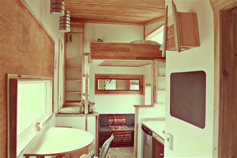 tiny home interiors relaxshacks twelve quot damn fabulous quot tiny house cabin