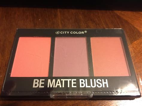 City Color Be Matte Blush 1 city color be matte blush muabs buy and sell makeup