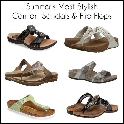 stylish comfort sandals summer s cutest comfort sandals flip flops