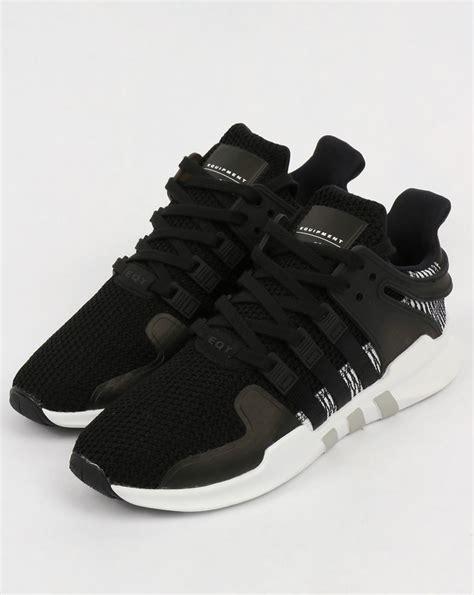 Adidas Eqt Black White adidas eqt support adv trainers black white originals equipment
