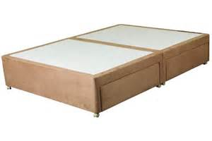 Base For King Size Bed Clayton Divan Bed Base Only 4 Drawer King Size
