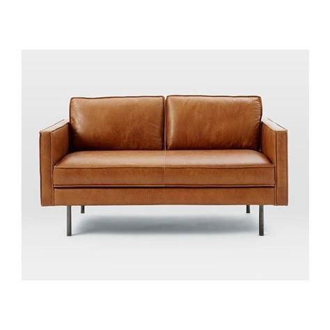 elm axel sofa review 1000 ideas about leather sofas on coaster