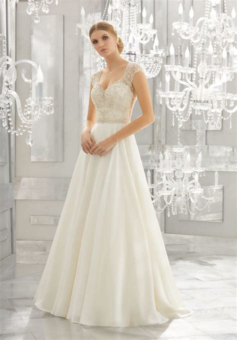 Mollie Wedding Dress   Style 8182   Morilee