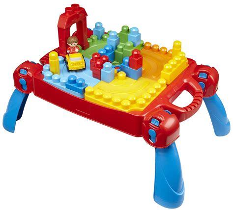 mega bloks play and go table petit