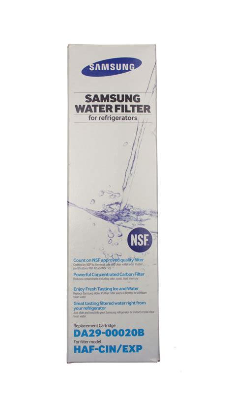 samsung refrigerator water filter haf cin abt
