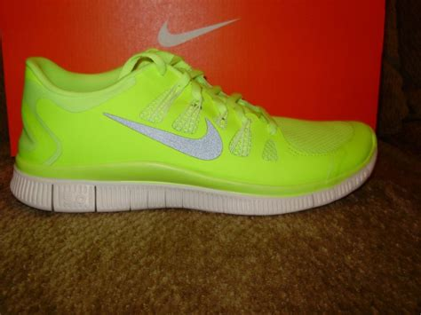 neon yellow nike running shoes nike free 5 0 running shoes neon yellow volt gray 579959