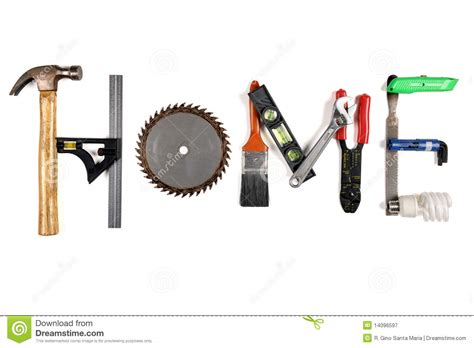 Kitchen Design Tool Free the word home made of tools royalty free stock photography