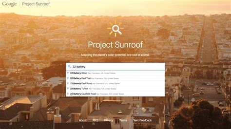 google project sunroof google launches project sunroof to suggest the best solar