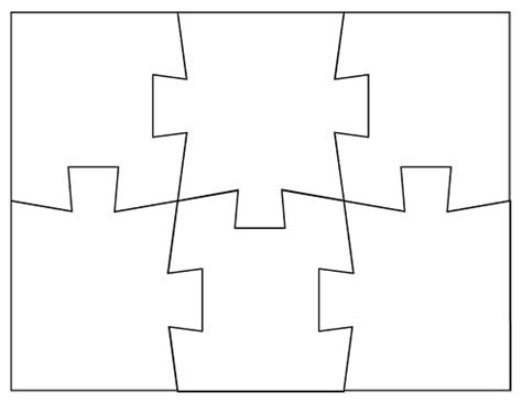custom printable jigsaw puzzle maker 25 best ideas about puzzle piece template on pinterest