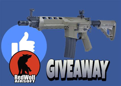 Airsoft Giveaway - redwolf airsoft facebook giveaway popular airsoft