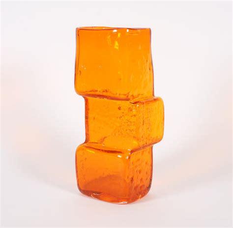 Drunken Bricklayer Vase by Whitefriars Glassworks Price Guide