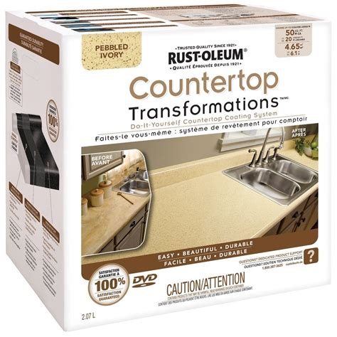 rust oleum do it yourself countertop coating system lowe s canada