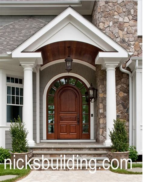 front entry arch top exterior doors radius arched doors round top