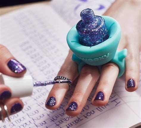 A Nail by Tweexy Is A Nail Holder You Wear Like A Ring