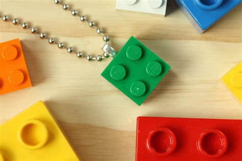 How To Lego Necklace Make