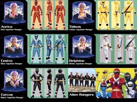 mighty morphin alien rangers season 3.5 by gera27 | power