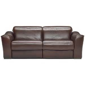 Electric Reclining Leather Sofa Prato 3 Seater Electric Leather Reclining Sofa Sofasworld