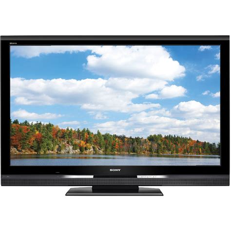 best sony bravia sony 52 quot bravia s series lcd hdtv kdl52s5100 b h photo
