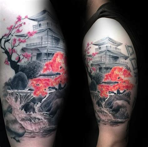 related keywords amp suggestions for japanese waterfall tattoo