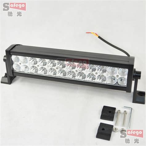 Led Light Bar On Truck Aliexpress Buy 1 Pcs Quality 72w Led Light Bar Truck Tractor Suv 4x4 Atv 5040 Lm
