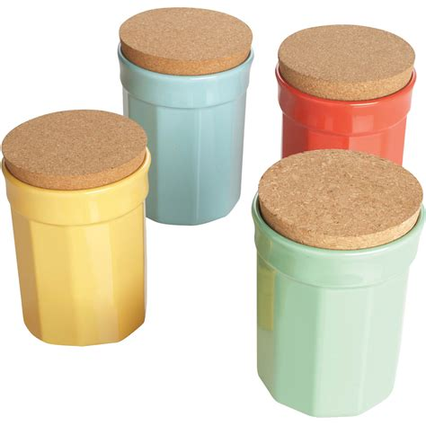 martha stewart collection crock ceramic food storage container canisters food storage