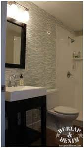 Glass Tile Accent Wall Bathroom Take It Up A Notch With Glass And Marble Tile Mosaic