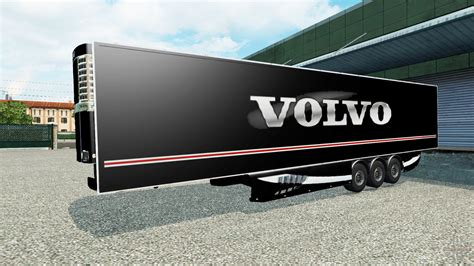 trailer volvo the semi trailer volvo for truck simulator 2